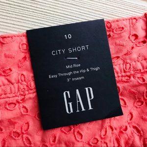 GAP Shorts - GAP Mid Rise Shorts